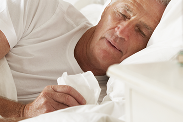 Bedridden from the flu Medicare can't help you.