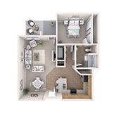 La Loma Village   Apartment B2