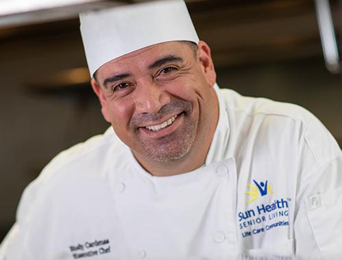 Rodolfo Cardenas-Martinez, Executive Chef