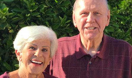 Ralph and Marjorie Behrens